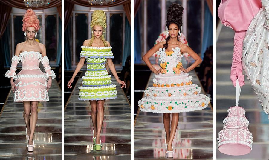 Φορέματα τούρτες γέμισαν την πασαρέλα. Υπερβολικά; Μπορεί!