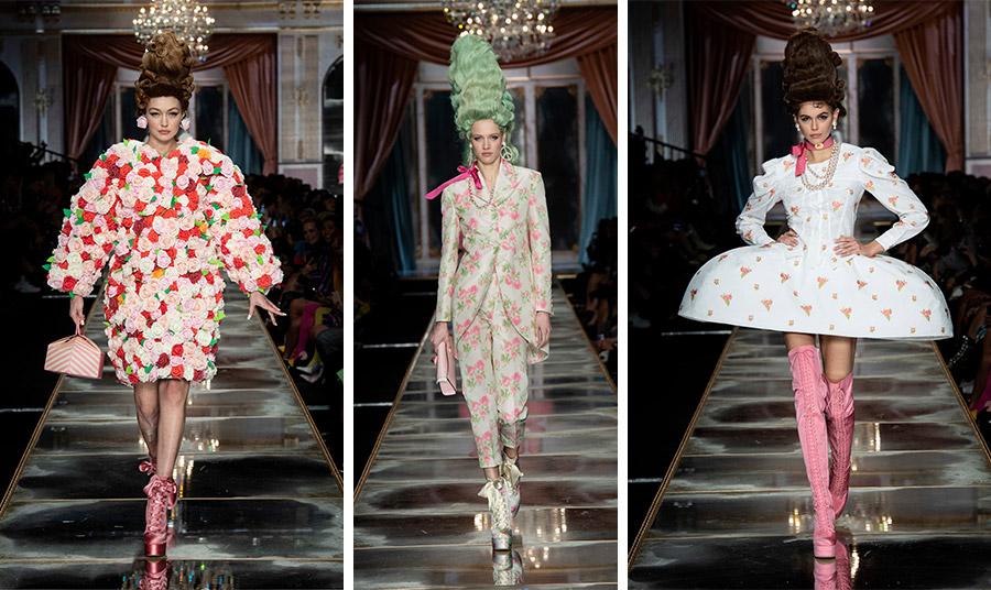 Η Gigi Hadid με το πιο τριανταφυλλένιο φόρεμα και άλλα λουλουδάτα μοτίβα