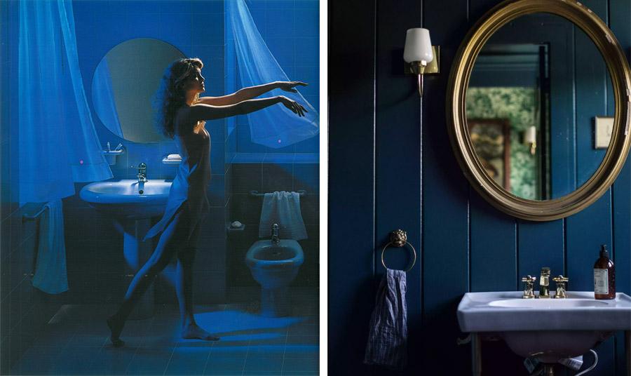 Τάση: Μπλε στο μπάνιο