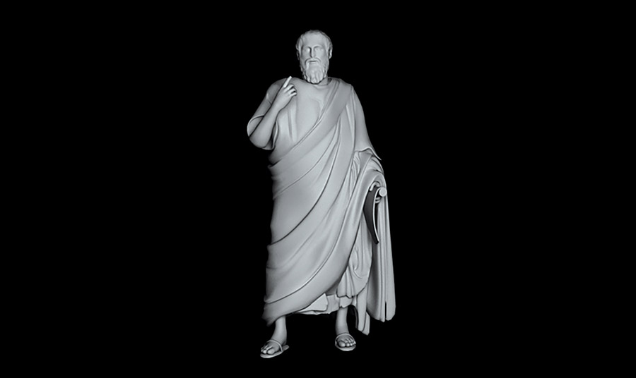 Πώς θα σας φαινόταν να συνομιλήσετε με τον ίδιο… τον Πλάτωνα; Σε μορφή ολογράμματος ο σπουδαίος αρχαίος φιλόσοφος περιμένει τις ερωτήσεις σας για τη φιλοσοφία και θεωρία του σχετικά με την Χαμένη Ατλαντίδα