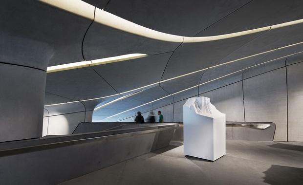 Το μουσείο που είναι αφιερωμένο στις παραδόσεις, την ιστορία και τις μεθόδους της ορειβασίας, είναι προσβάσιμο μόνο με τελεφερίκ