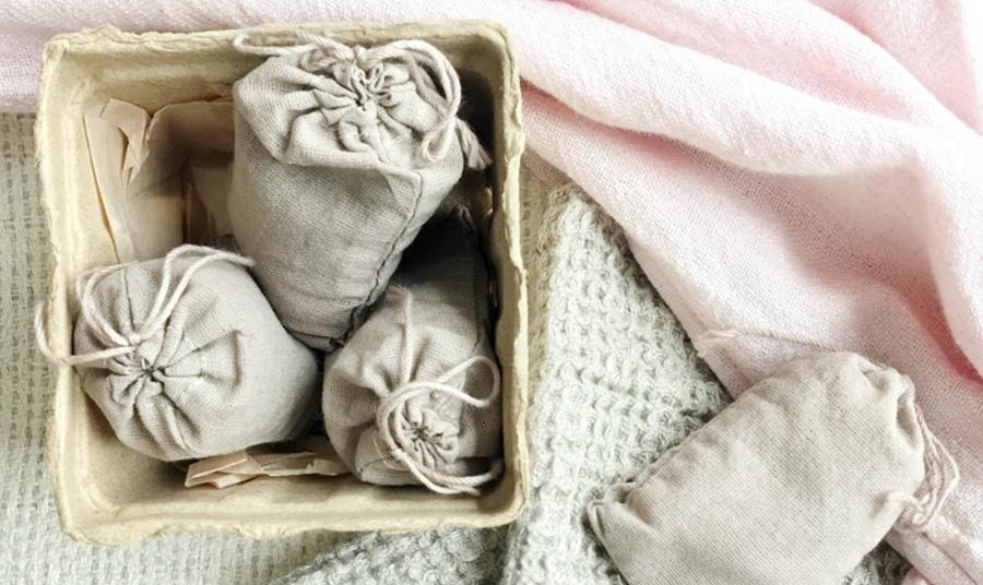 Σακουλάκια με τριμμένα αρωματικά κεριά