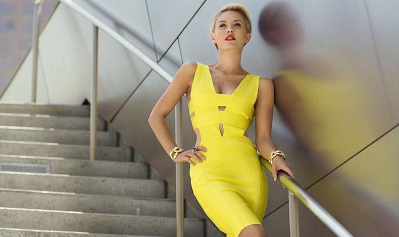 Το κίτρινο δεν είναι χρώμα που θα επιλέξει κάποιος άτολμος!