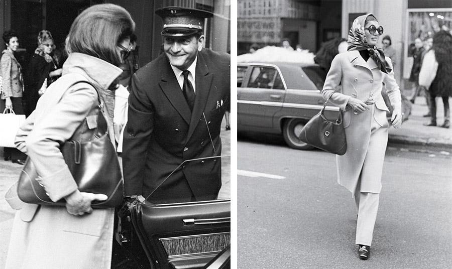 Η Τζάκι Κέννεντι λάτρεψε την τσάντα