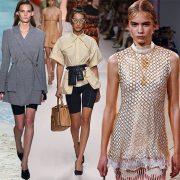 Η ποδηλατική βερμούδα γίνεται μόδα ακόμη και με σακάκι! Οι οίκοι Chanel, Dion Lee και Fendi έδειξαν τις δικές τους εκδοχές // «Τυλιχτείτε» στα δίχτυα μοιάζει να είναι το νέο σύνθημα, σε μπλούζες, φούστες και φορέματα, όπως στον Paco Rabanne ή τον Salvatore Ferragamo