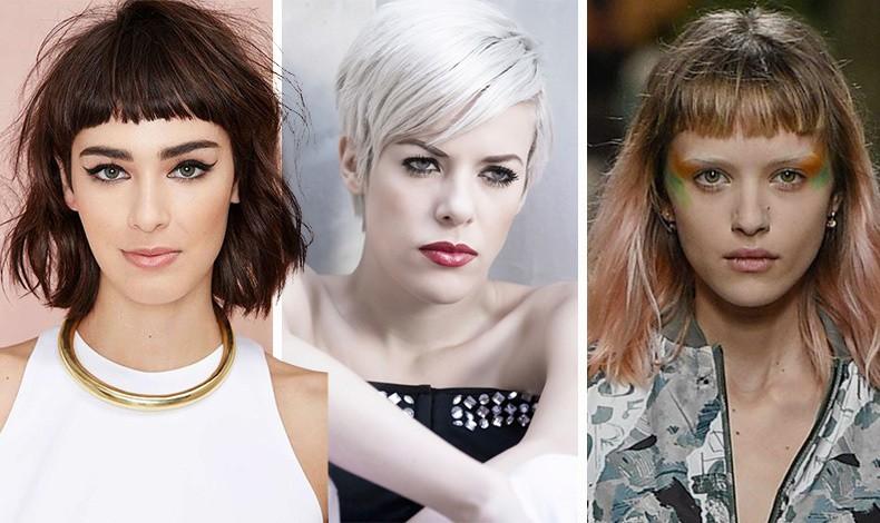 Οι κοντές αφέλειες είναι το κυρίαρχο trend στο κόψιμο των μαλλιών με το ψαλίδι να κόβει τη φράντζα σχεδόν μισή παλάμη πάνω από το τόξο των φρυδιών, ενώ μία από τις πιο εμπνευσμένες τάσεις στη βαφή μαλλιών για την άνοιξη του 2019 είναι τα μαλλιά σε φωτεινό λευκό!