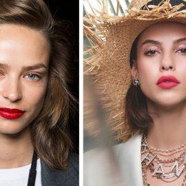 Θα αποκτήσουμε «αυθάδικα» κατακόκκινα χείλη, που αποδεικνύεται ξανά το αγαπημένο χρώμα στα ντεφιλέ από τη Νέα Υόρκη μέχρι το Παρίσι, με τα καινοτόμα σε σύνθεση κραγιόν να χαρίζουν μία υγρή κι έντονη διάσταση