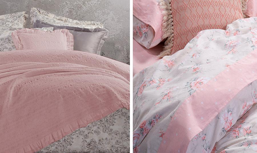 Το «σκονισμένο» ροζ είναι το νέο χρώμα της μόδας. Γλυκό αλλά όχι γλυκερό θα το λατρέψετε στην κρεβατοκάμαρά σας!