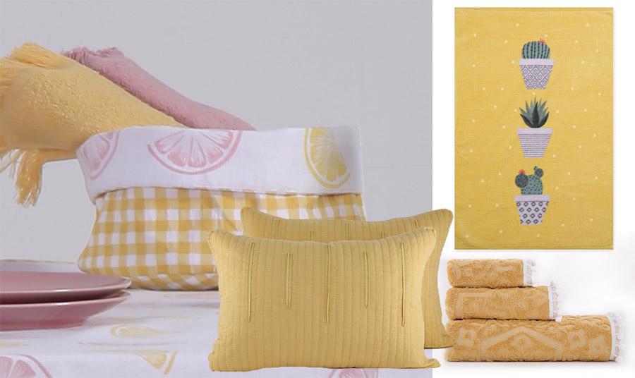 Το κίτρινο, λαμπερό και φωτεινό, είναι από τα πιο μοντέρνα χρώματα για την άνοιξη-καλοκαίρι 2020. Υιοθετήστε το στην κουζίνα ή στο μπάνιο σας με τη νέα συλλογή  Nef Nef Homeware