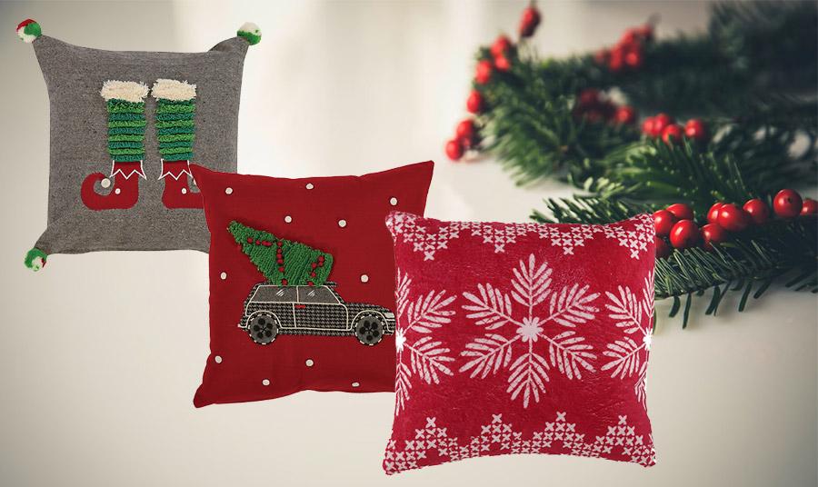 Στο πνεύμα των ημερών! Διαλέξτε πανέμορφα μαξιλάρια από μία μεγάλη ποικιλία για το σπίτι σας ή για δώρα στους αγαπημένους σας!