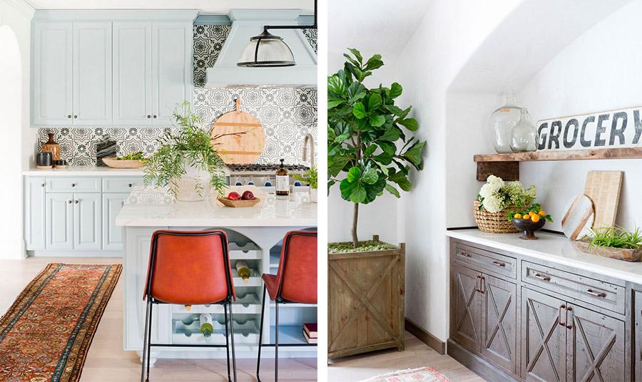 Προσθέστε για παράδειγμα στην κουζίνα σας ένα φυτό μικρό ή μεγαλύτερο ανάλογα με τον χώρο