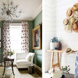 Ένας απλός τρόπος να αποφύγουμε το μπέρδεμα με τα χρώματα είναι το πράσινο της ελιάς ή το χρώμα από το πικραμύγδαλο ή πάλι, ένα καθαρό λευκό.