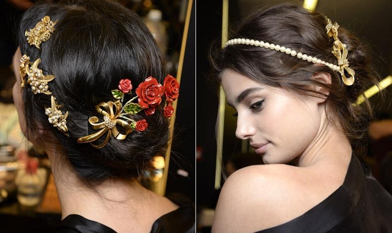 Ενσταντανέ από την κολεξιόν φθινόπωρο-χειμώνας 2015-16 του ιταλικού οίκου Dolce & Gabbana, όπου ο πλουραλισμός έχει τον πρώτο λόγο
