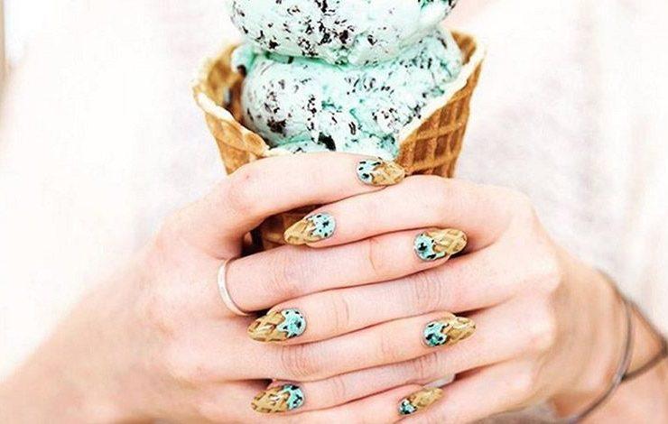 Νύχια... παγωτό! Η πιο γλυκιά τάση μανικιούρ του καλοκαιριού!