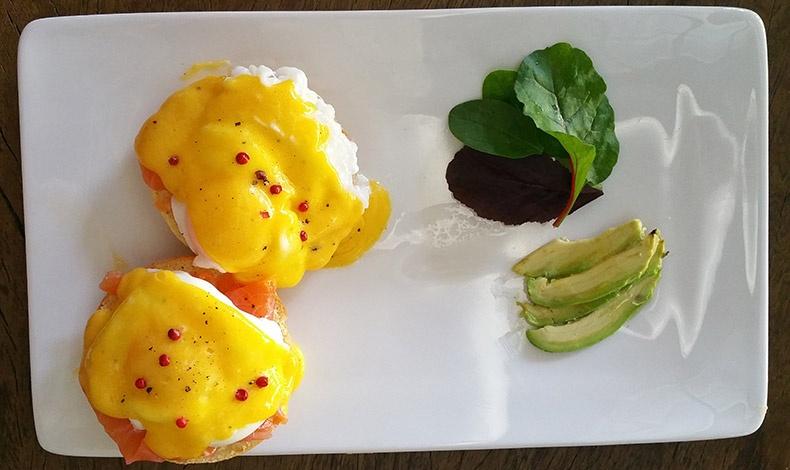 Αβγά benedict είναι μία από τις αλμυρές επιλογές του Ninnolo