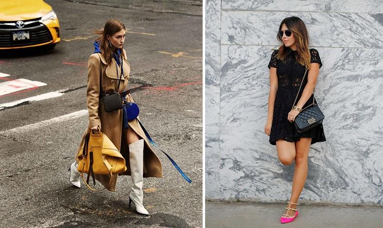 Αποφύγετε τα πολύ ψηλά τακούνια και προτιμήστε ένα ζευγάρι πιο άνετα παπούτσια για να αντεπεξέλθετε σε οτιδήποτε!