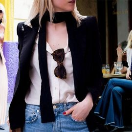 Το λεπτό κασκόλ μπορεί να παίξει τον ρόλο της ανδρικής γραβάτας αλλά με άλλο τρόπο, πιο ανάλαφρο και πιο σοφιστικέ ανάλογα με το πώς θα το φορέσετε και θα το συνδυάσετε