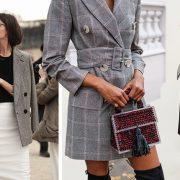 Φορέστε το καρό σακάκι με pencil φούστα, παντελόνα αλλά και μακρύ με φαρδιά ζώνη σαν φόρεμα!