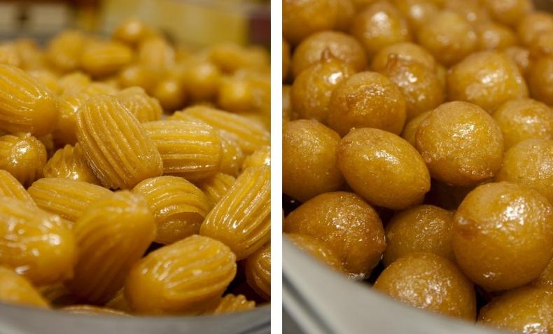Τουρκικές Τουλούμπες και Ελληνικοί λουκουμάδες... ποιος δεν ξετρελαίνεται με τη γλύκα από το μέλι;