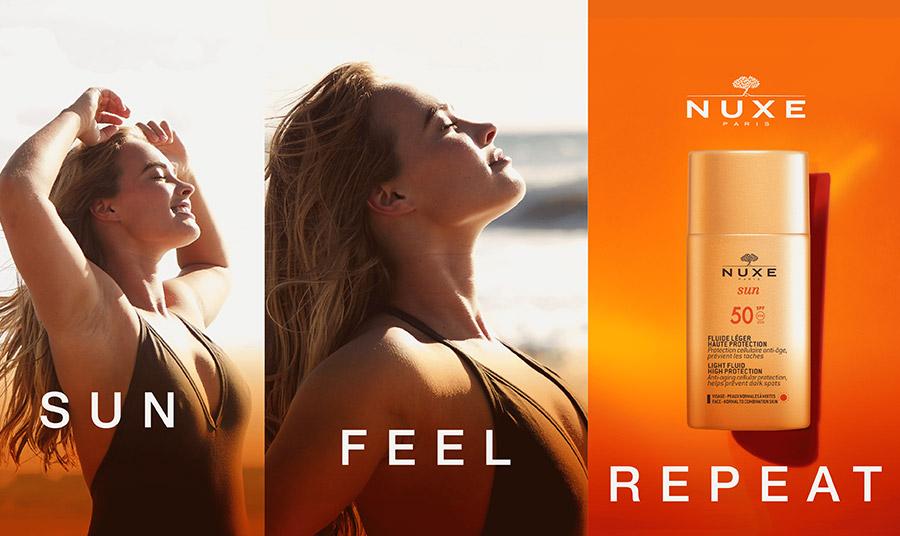 Η νέα καλοκαιρινή καμπάνια της Nuxe μας καλεί να απολαύσουμε τον ήλιο και να ζήσουμε ανέμελες στιγμές με αντηλιακή προστασία