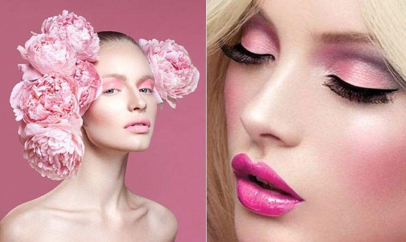 Πειραματιστείτε για να ανακαλύψετε τη «δική» σας ροζ απόχρωση, αλλά μην ξεχνάτε ότι η τάση επιβάλλει ροζ σε όλο το πρόσωπο, μάτια, μάγουλα και χείλη στις ίδιες αποχρώσεις!