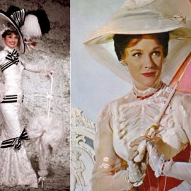 Σε ύφος άλλων εποχών, η Όντρεϊ Χέπμπορν στην ταινία «Ωραία μου Κυρία» // Από την ταινία «Μαίρη Πόπινς»
