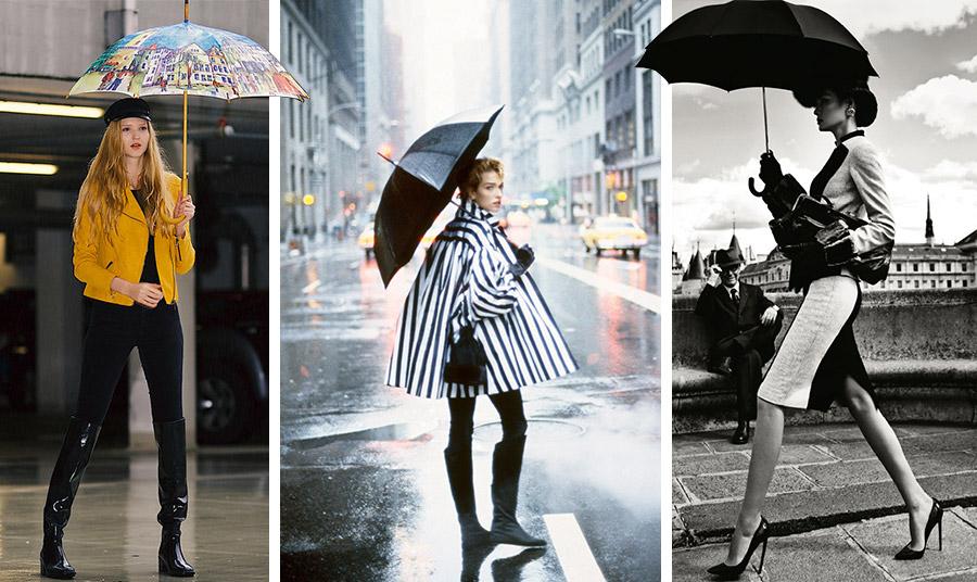 Μπορεί οι σπαστές, μικρές ομπρέλες να είναι βολικές, αλλά δεν είναι εξίσου ανθεκτικές