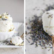 Παγωτό κρέμα με λευκή σοκολάτα