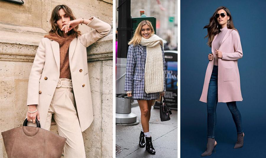 Επιλέξτε ένα κοντό παλτό με ενιαίο χρώμα, αφού δημιουργεί την ψευδαίσθηση πιο μακρόστενης σιλουέτας