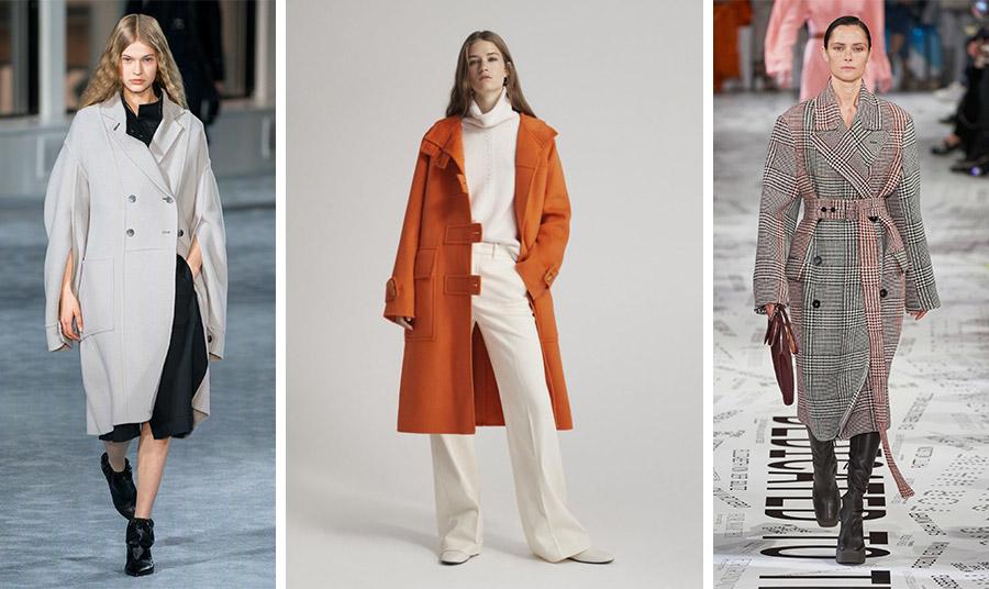 Το μεσαίο μήκους παλτό ταιριάζει σε όλες τις γυναίκες χωρία να «πνίγει» στο ύφασμα