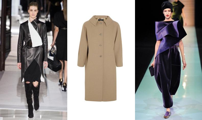 Vionnet // Dolce & Gabbana // Emporio Armani