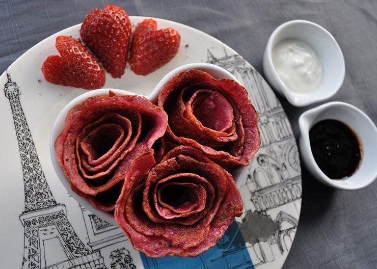 Πανκέικ σαν τριαντάφυλλα!