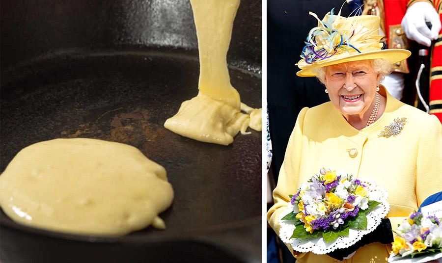 Η Βασίλισσα λατρεύει τις τηγανίτες