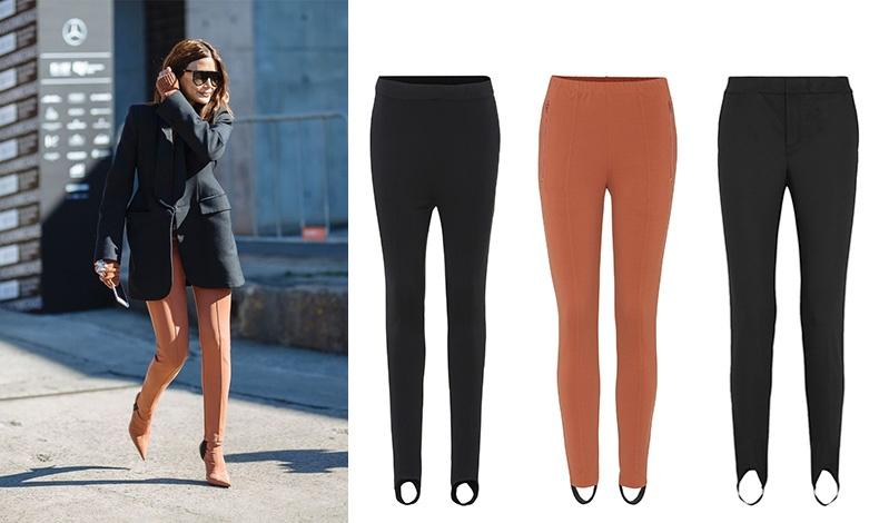 Για πιο συντηρητική εμφάνιση, ένα παπούτσι στο ίδιο χρώμα με το παντελόνι ιππασίας σας είναι ό,τι πρέπει // Κλασικό μαύρο, Helmut Lang // Σε ιδιαίτερο χρώμα, Balenciaga // Σε ίσια γραμμή, Marni