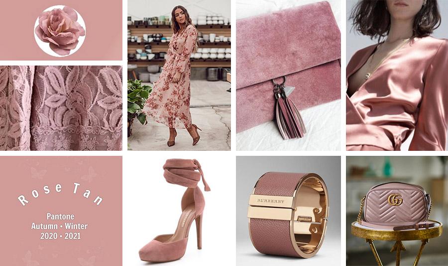 Ρούχα και αξεσουάρ στην απόχρωση του «σκονισμένου» ροζ είναι η τελευταία λέξη της μόδας. Σε ένα φλοράλ ή σατέν φόρεμα, σε μία σουέντ τσάντα ή ένα ψηλοτάκουνο παπούτσι. Σε ένα βραχιόλι (Burberry) ή σε μία δερμάτινη τσάντα (Gucci) με μεταλλικές λάμψεις χρυσού είναι τέλειο