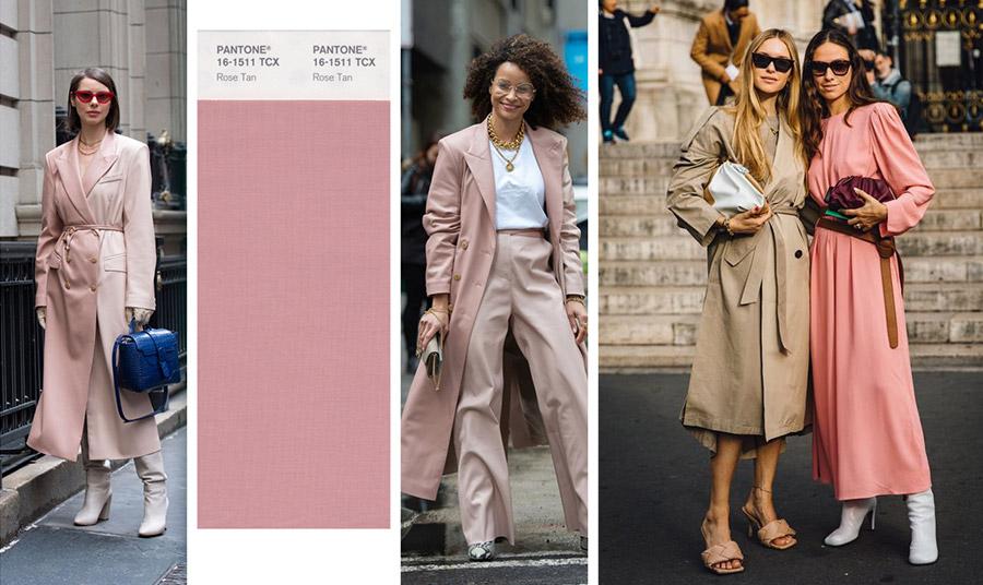 Το rose tan είναι μία διακριτική αλλά πολύ ενδιαφέρουσα απόχρωση! Ειδικά, σε παλτό, γίνεται αριστοκρατική και πολύ θηλυκή, ενώ «σπάει» τη μουντή διάθεση της εποχής! Πάρτε ιδέες, από το street style, (από αριστερά προς τα δεξιά) στο Παρίσι, τη Νέα Υόρκη, την Κοπεγχάγη