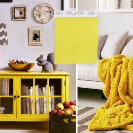 Το κίτρινο είναι ένα από τα κορυφαία χρώματα της χρονιάς! Το Pantone Meadowlark 13-0646 είναι φωτεινό και λαμπερό και ταιριάζει απόλυτα με γκρι, καφέ, λευκά, μαύρα έπιπλα και αντικείμενα και δένει υπέροχα με το ξύλο