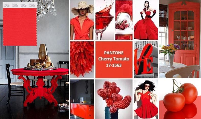 Το Cherry Tomato είναι το νέο κόκκινο της Pantone. Είναι μία υπέροχη απόχρωση που βάζει τη σφραγίδα της, όπου κι αν χρησιμοποιηθεί!