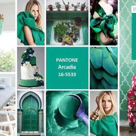 Το πράσινο χρώμα Arcadia 16-5533 είναι το νέο greenery της προηγούμενης χρονιάς. Βάψτε έναν τοίχο σας, βάλτε μία πινελιά, όπως ένα φωτιστικό, δώστε νέα πνοή στο υπνοδωμάτιό σας