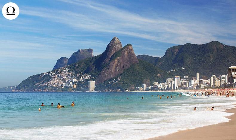 Μία Ζυγός είναι πάντα έτοιμη να ερωτευθεί! Η παραλία Ipanema στην Βραζιλία είναι εξίσου διασκεδαστική όσο και όμορφη, συνδυάζοντας τη συγκλονιστική θέα με την παιχνιδιάρικη ατμόσφαιρα