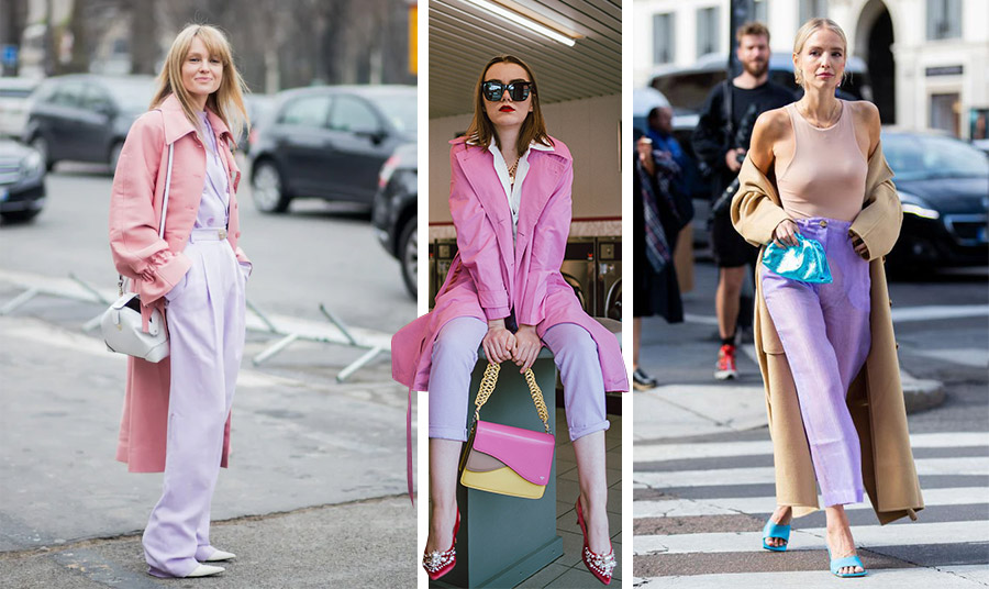 Μία απόχρωση πολύ της μόδας: Το λιλά και μάλιστα σε απαλό τόνο! Συνδυάστε το με dusty pink, με φούξια για εντυπωσιακό αποτέλεσμα ή με μπεζ-ταμπά και δώστε μία ενδιαφέρουσα πινελιά με γαλάζιο!