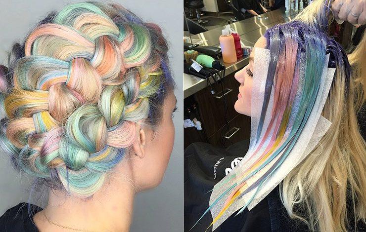 Παστέλ μαλλιά: Η διαφορετική τάση του καλοκαιριού