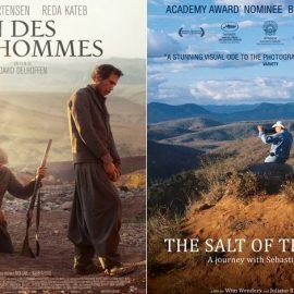 Πόστερ της δραματικής ταινίας «Μακριά από τους ανθρώπους» με πρωταγωνιστή τον Βίγκο Μότερσεν // Ένα ενδιαφέρον ντοκιμαντέρ «Το αλάτι της γης», φορτωμένο? με πολλά βραβεία