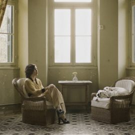Σκηνή από την ταινία Πολκ, της οποίας ο σκηνοθέτης Νίκος Νικολόπουλος θα βρίσκεται επίσης στην Πάτμο