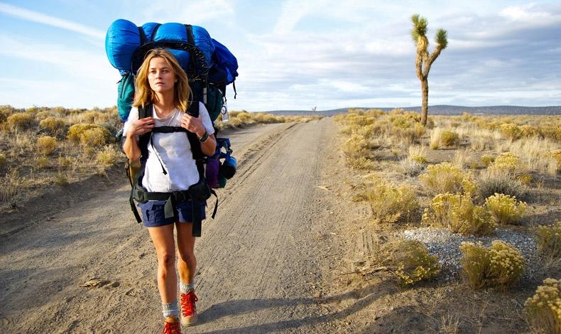 Σκηνή από την ταινία «Wild» με πρωταγωνίστρια την Reese Witherspoon. Η Cheryl Strayed, συγγραφέας του βιβλίου είναι καλεσμένη του φεστιβάλ