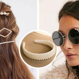 Φορέστε πέρλες σε κοκαλάκια για τα μαλλιά ή επιλέξτε ένα ζευγάρι γυαλιά στολισμένα με αυτές!