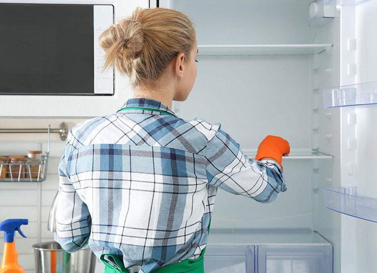 Πώς θα έχω πεντακάθαρο ψυγείο