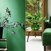 Αναμείξτε διάφορους τόνους του πράσινου, αντλώντας έμπνευση από τους κήπους
