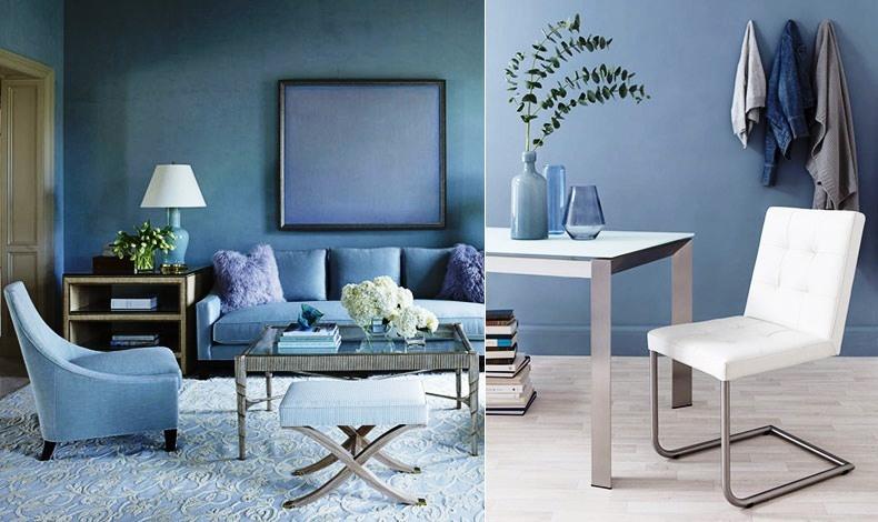 Το μπλε σε ένα δωμάτιο φέρνει έμπνευση καθώς προκαλεί ηρεμία και συγκέντρωση
