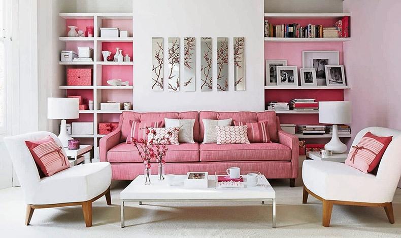 Το ροζ είναι ένα χρώμα τρυφερό και ευγενικό που εκπέμπει ζεστασιά και ευαισθησία. Ταιριάζει σε σαλόνια, τραπεζαρίες και υπνοδωμάτια